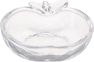 ミレニアムアート ガラスアップル クリア ML693-01 クリア サイズ:約9.7x10.5x2.6cm ML693-01