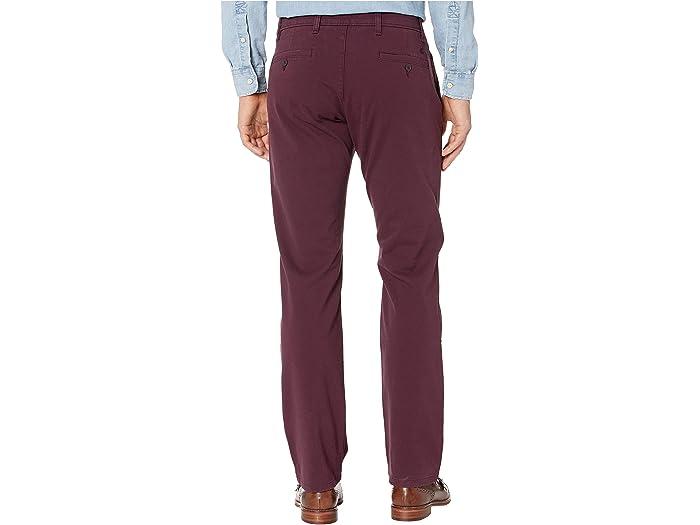 Dockers Straight Fit Ultime Pantalones Chinos Con Smart 360 Flex Deep Burgundy Pants
