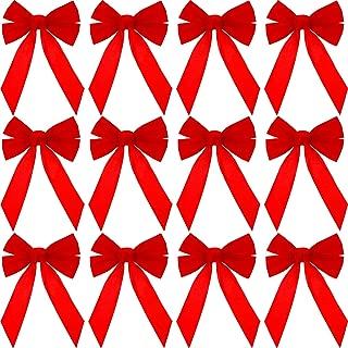 velvet wreath bows