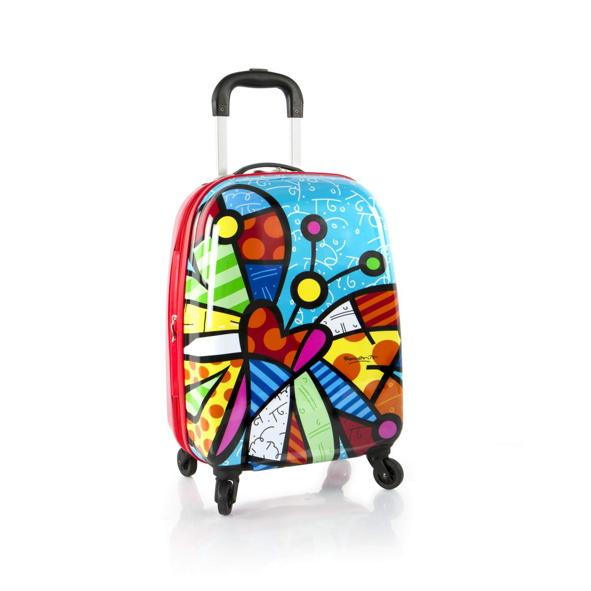 America Unisex Spinner Butterfly Luggage