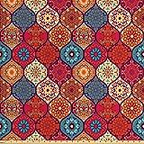 Ambesonne marokkanischer Stoff von The Yard, Orientalisches