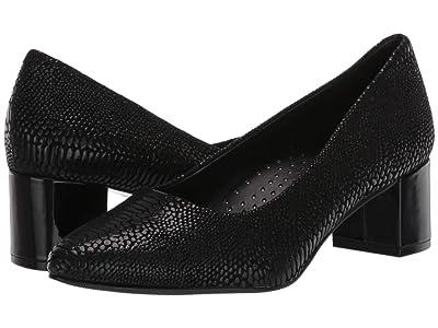 Trotters Kari (Black Lizard) Women