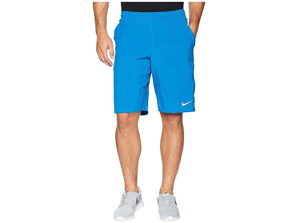 Nike N.E.T. 11 Woven Short (Military Blue/White) Men