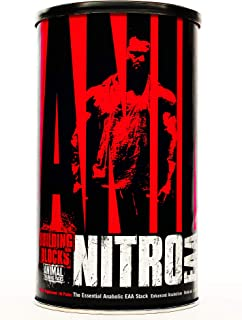 Animal Nitro – Essential Animo Acids with BCAA Supplement – Recover and Grow Muscle – Turn Your Muscles Anabolic After You...