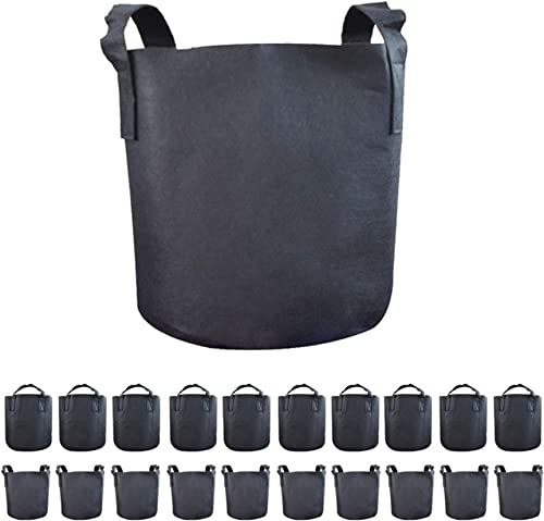 new arrival labworkauto Grow Bags Fabric Bag Plant discount Bags Grow Pots with Handles Garden Container Fit for new arrival Garden Grow Soil Plants sale