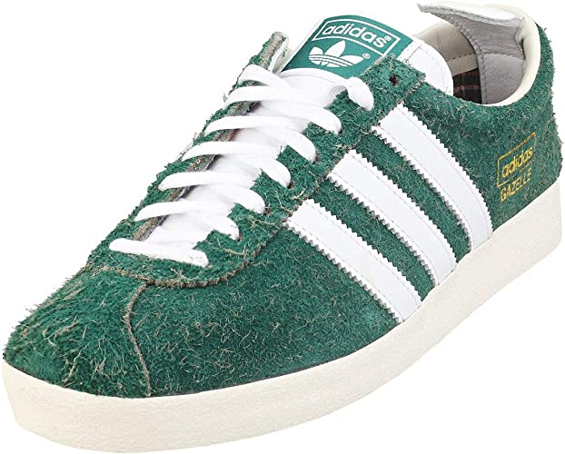 Amazon.com   adidas Gazelle Vintage Mens Classic Trainers in Green ...
