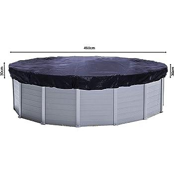 Gre CIPR451 - Cobertor de Invierno para Piscina Redonda de 460 cm ...