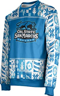 California State University San Marcos Ugly Holiday Unisex Sweater - Wrapping Paper