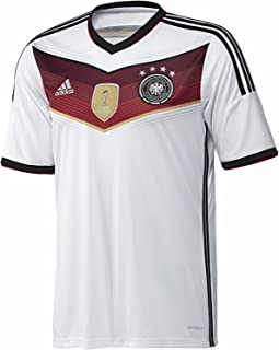 adidas Youth Germany Home 4 Star Champion WC 2014 Soccer Stadium Jersey (YS) White