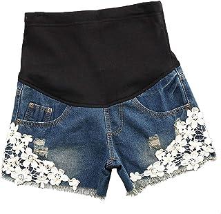 Yying Pantalones Cortos De Los Pantalones Cortos De Maternidad De Las Mujeres Casuales con Los Pantalones Cortos De Los Pa...