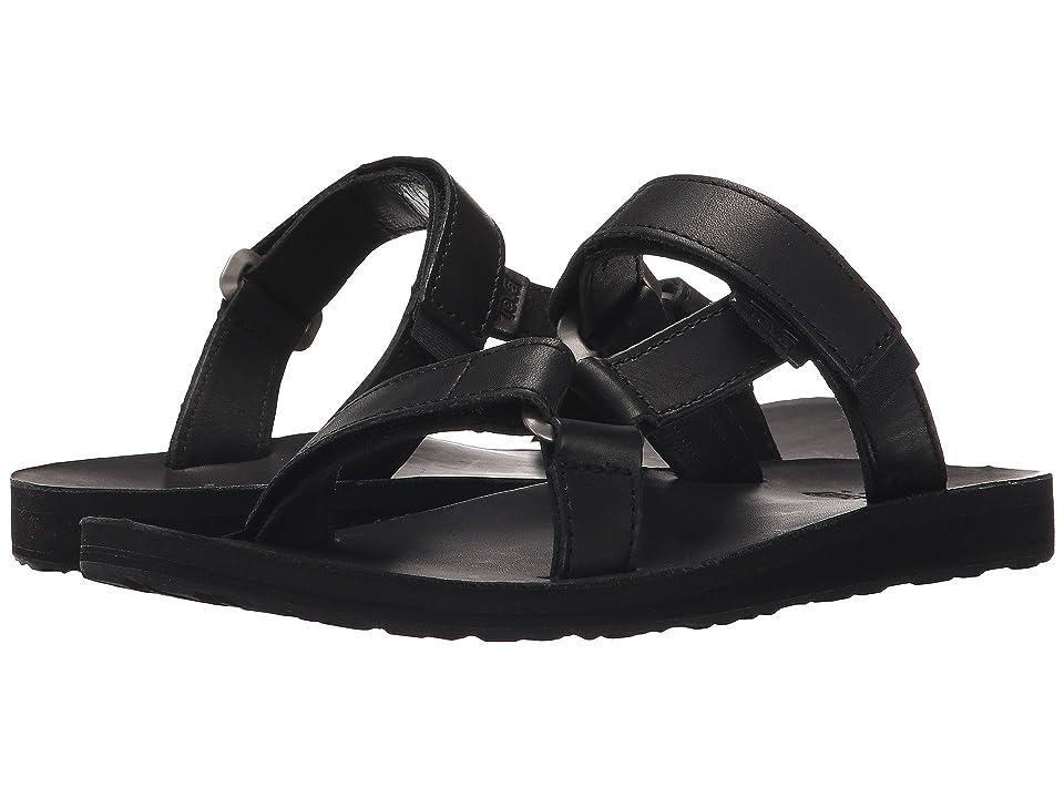 Teva Universal Slide Leather (Black) Women