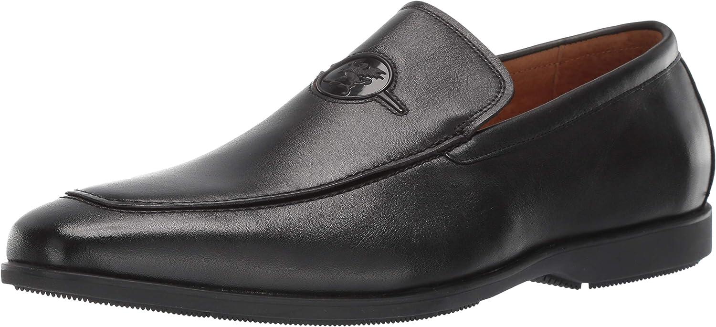 Stacy Adams Mens Creston Moc-Toe Slip-on Loafer Loafer