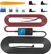 VanTop V9F Dash Cam Hardwire Kit, 11.5ft Mini USB Hard Wire Kit for Dashcam Converts 12V-24V to 5V/2.5A w/Fuse Kit and Ins...