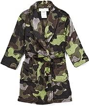 Komar Kids Boy's Camouflage Camo Luxe Fleece Bathrobe, Robe