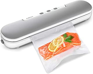 Vacuum Sealer Machine, ABOX V69 Portable Food Vacuum Air Sealing System for Food Saver Storage, Compact Design with Magnet...