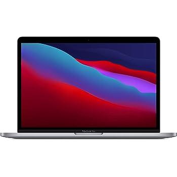 Nuevo Apple MacBook Pro (de13pulgadas, Chip M1 de Apple con CPU de ochonúcleos yGPU deochonúcleos, 8GB RAM, 512GB SSD) - Gris espacial
