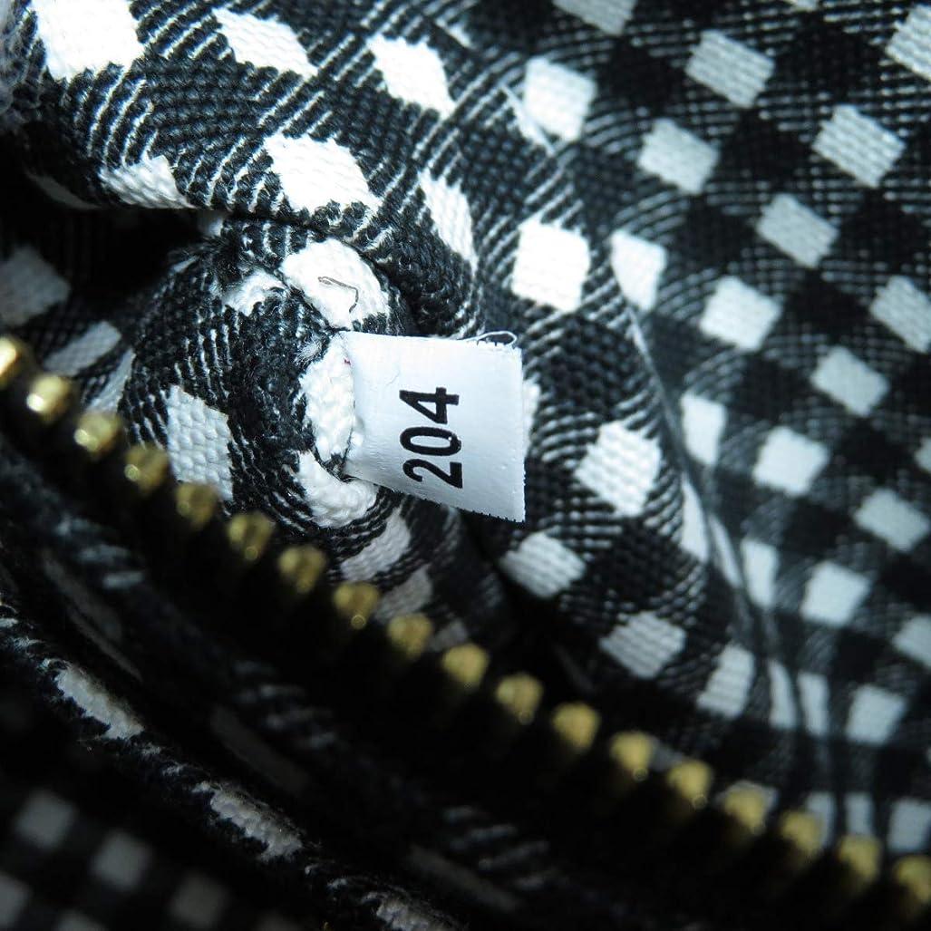 ご覧ください未知の灰[プラダ]カナパミニ 1BG439 ハンドバッグ キャンバス レディース (中古)