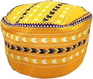 قبعة Vipada الأفريقية المصنوعة يدويًا بنمط Kente من الكوفي الكوفي، قبعة 3