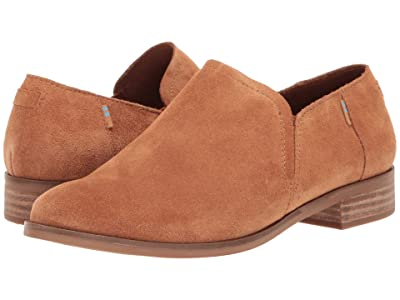 TOMS Shaye Low (Carmel Brown Suede) Women