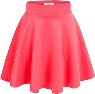 Simlu Womens Skater Skirt, A Line Flared Skirt Reg & Plus Size Skater Skirts USA