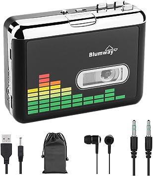 BlumWay Portable Cassette Recorder Player