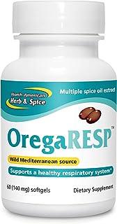 North American Herb & Spice OregaResp P73-60 Softgels - Supports Immune & Respiratory Health - Multiple Spice Oil Complex ...