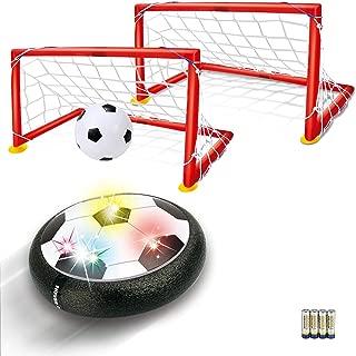 Kids Toys Hover Soccer Ball - LED Air Power Soccer Set...