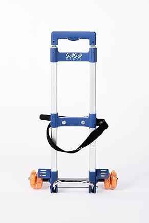 GO-GO BABYZ Mini TRAVELMATE CAR SEAT Stroller for Toddler car Seats, Silver