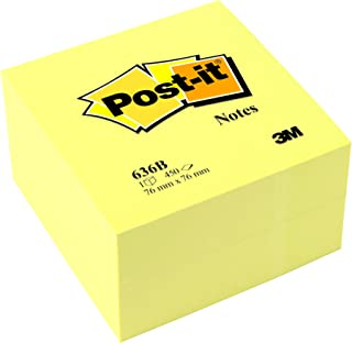 Dohe 75007 400 Cube notes repositionnables 75 x 75 mm Jaune