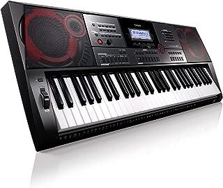 Casio CT-X5000 Top keyboard z 61 standardowymi przyciskami, automatyczny akompaniament i silny system głośników, czarny, b...