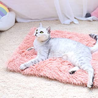 Pet Snuffle Mat Dog Soft Plush Sleeping Dog Bed For Small Medium Large Dog Cat Breathable Warm Bed Blanket Puppy Chihuahua Teddy Pet Dog Bed Mat,Gray,97 x 75 cm
