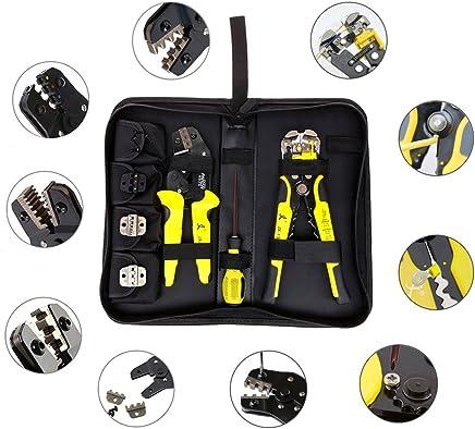 Ben-gi 4 in 1 1 1 Drahtcrimper Handwerkzeuge Kit Technik Ratchet Terminal-Crimpzange Drahtcrimper  Abisolierzange  S2 Screwdiver B07QB24CLL | Abrechnungspreis  07cbd6