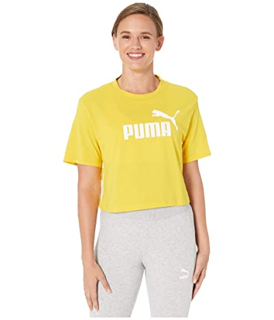 PUMA Amplified Cropped Tee (Sulphur) Women