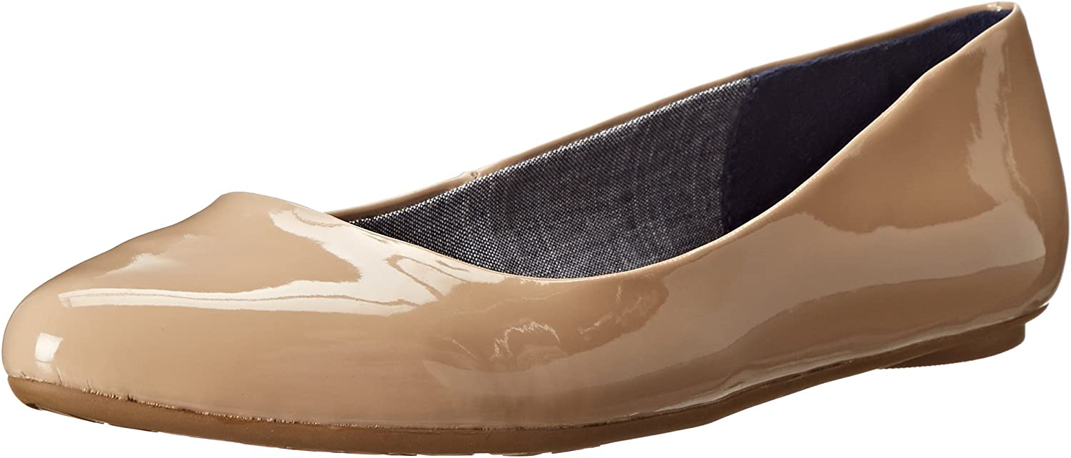 Dr. Scholl's Women's Really Flat, Sand Patent, 6 W US