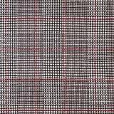 Fabulous Fabrics Jersey signalrot, Karo, 145cm breit –