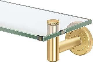 brass glass shelf brackets