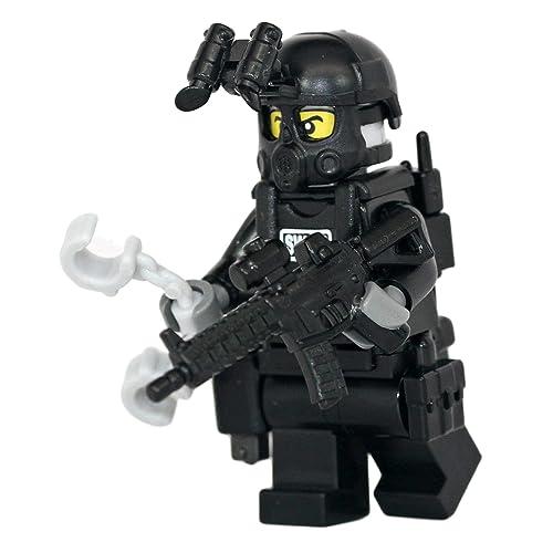 Lego Police and SWAT Team: Amazon com
