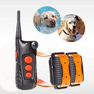 Aetertek® Updated & Submersible Dog Training Collar 918C Dog Training Shock Collar Rechargeable Dog Collar with 600 Yards Remote Range