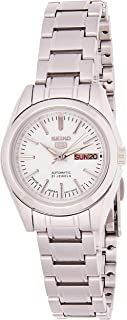 SEIKO Women's Automatic Watch, Analog Display and Stainless Steel Strap SYMK13J1