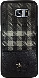 Santa Barbara Polo & Racquet Club Plaid Series Case for Samsung S7 edge (Black)
