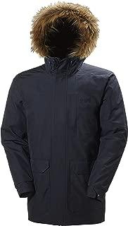 Helly Hansen Men's Dubliner Parka 100 Gram Primaloft Insulated Waterproof Windproof Breathable Rain Coat with Hood