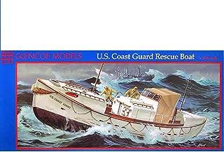 Glencoe Models 1:48 Scale U.S. Coast Guard Rescue Boat Plastic Model Kit (1989