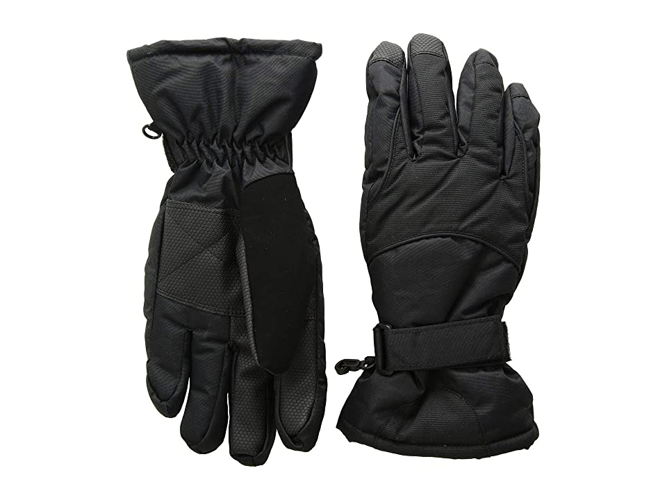 Tundra Boots Kids Nylon Gloves (Black) Extreme Cold Weather Gloves