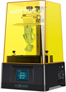 ANYCUBIC Photon Mono 3D Printer, UV LCD Resin 3D Printer Fast Printing with 6.08'' 2K Monochrome LCD, Off-line Print 5.1...