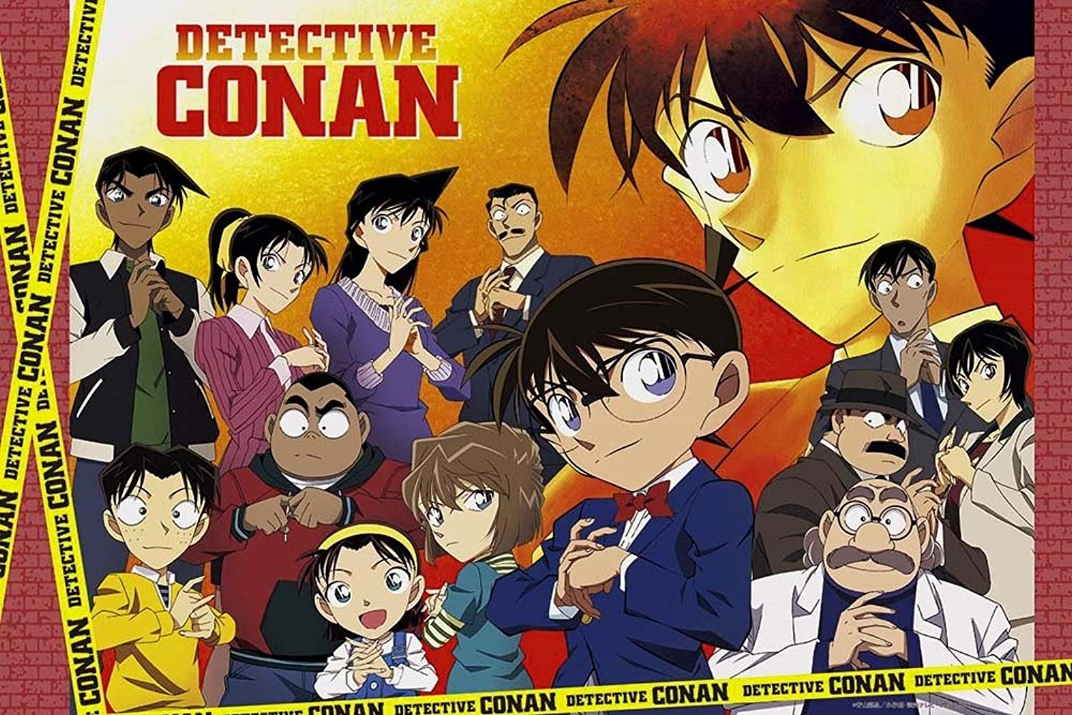 Challengers 11490 of 1000 Piece Detective Conan Master of Fate  Puzzle Aim by Epoch