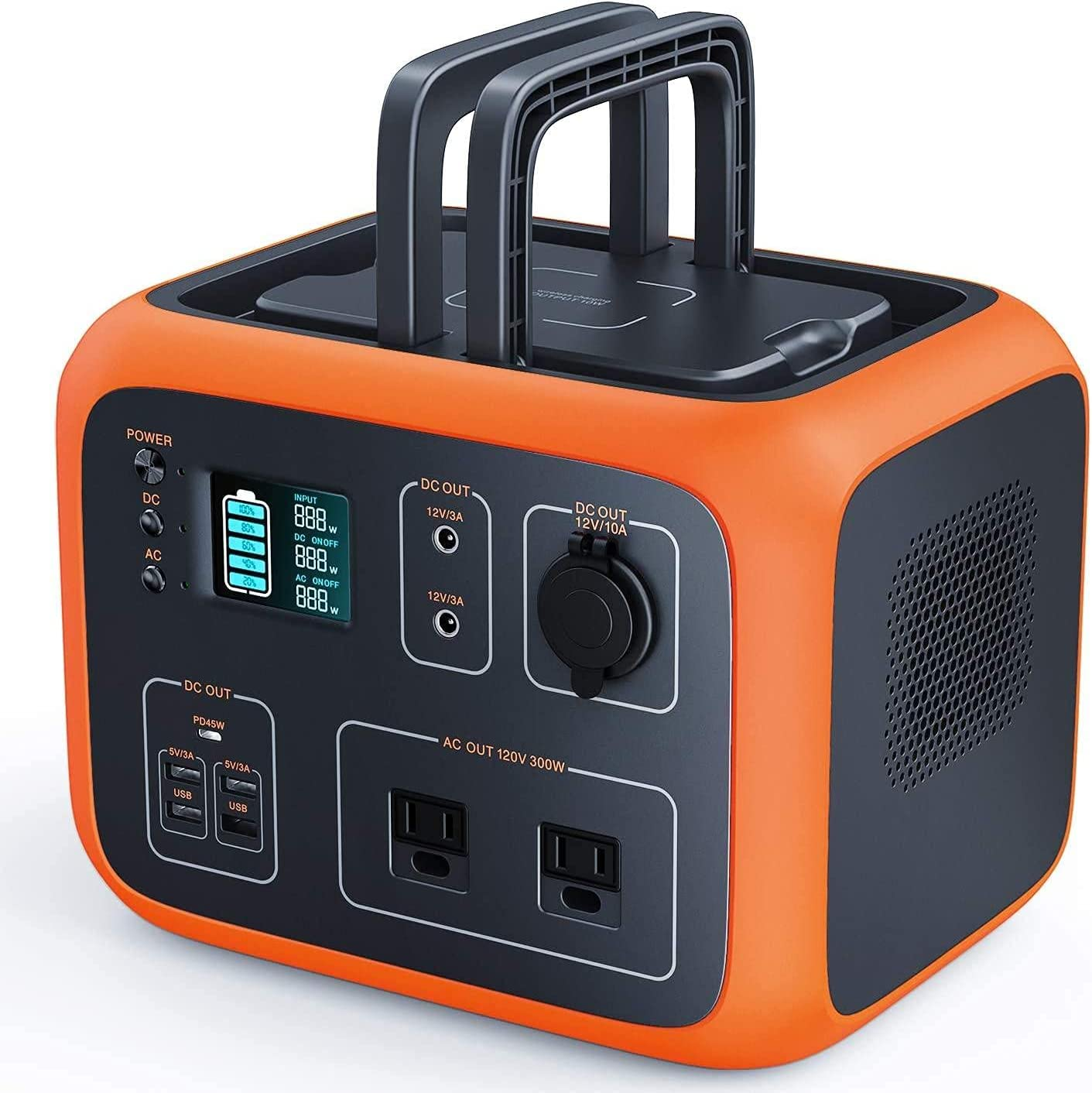 789 500Wh 300W Pure Sine Wave Portable Power Station $249.99 Coupon