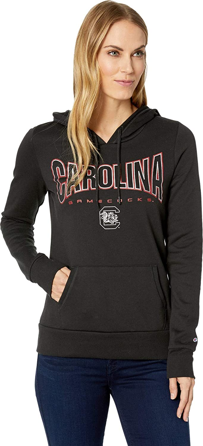 Champion College Womens South Carolina Gamecocks Eco University Fleece Hoodie
