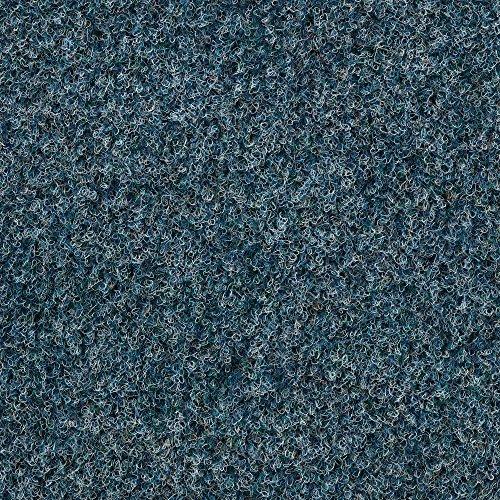 Kunstrasen Rasenteppich mit Noppen | Höhe ca. 7,5mm | 133, 200 und 400 cm Breite | blau | Meterware, verschiedene Größen | Größe: 1 x 4 m