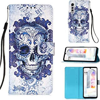 StarCity Case for LG Velvet 5G, [Kickstand Feature] [Card Holder] LG Velvet Wallet Case for Girls, 3D PU Leather Folio Fli...