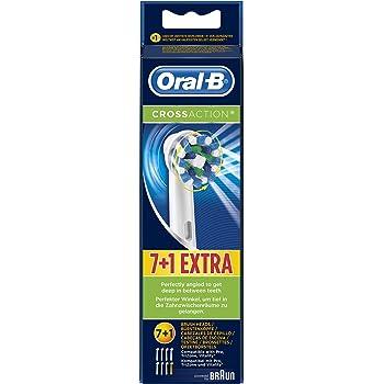 Oral-B CrossAction - Cabezal de Recambio, Set de 5 Recambios para ...